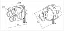 Многозональный центробежный вентилятор Вентс ВК ВМС 125 2